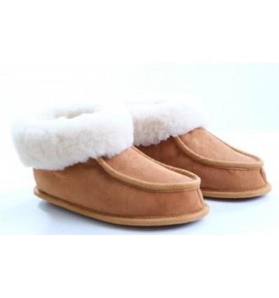 Slippers Iraty in Sheepskin - Made in France