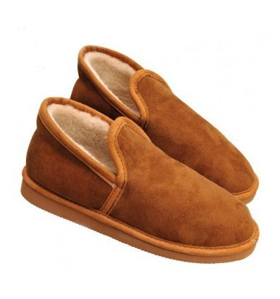 Slippers Charentaises in Sheepskin - Made in France
