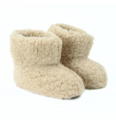 chausson laine babou