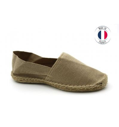 Espadrilles Basque MADE IN FRANCE Sable
