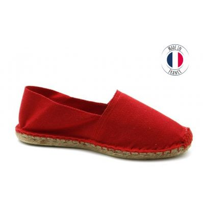 Espadrilles Basque MADE IN FRANCE Rouge