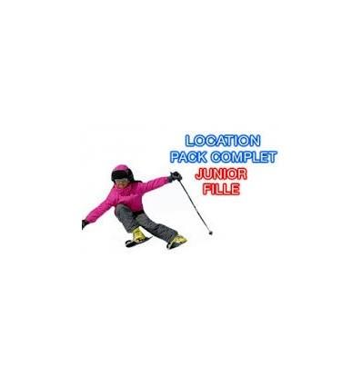 Fille Junior Skis+bâtons+chaussures