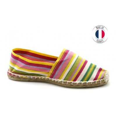 Espadrilles Basque MADE IN FRANCE Multi-couleur G29