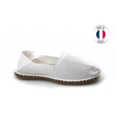 Espadrilles Basque MADE IN FRANCE Blanc