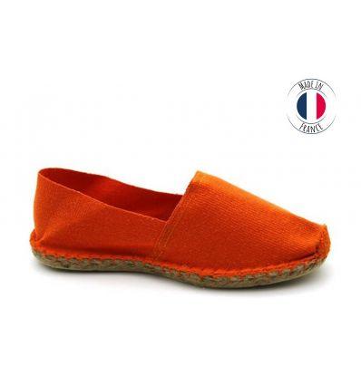 Espadrilles Basque MADE IN FRANCE Orange