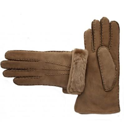 Saddler Gloves Natural Sheep Women