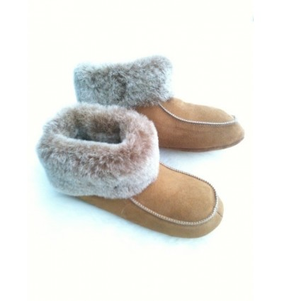 Slippers Mérinos in Sheepskin - Made in France