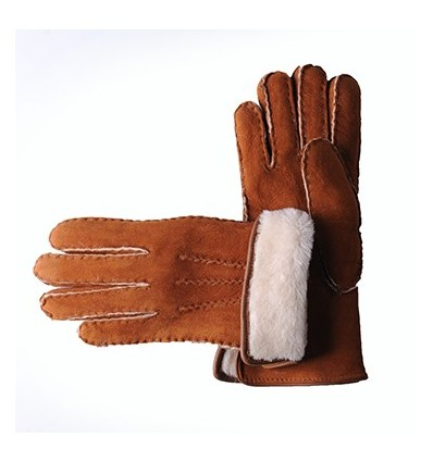 Gants Sellier Mouton Homme Brandy