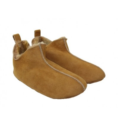 Slippers Aneto in Sheepskin - Made in France