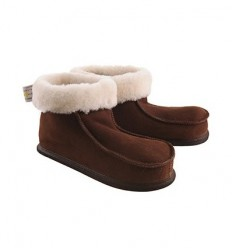 Slippers Chalet Sheathed in Sheepskin - Made in France
