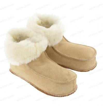 Pantoufles Eskimo Sable