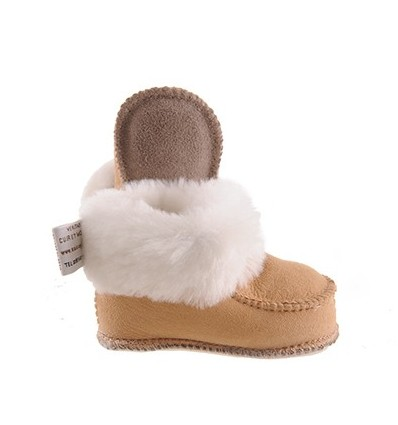 Child Slippers Chalet in Sheepskin - Made in France