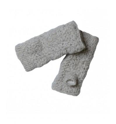 002B Mitaines en laine doublées Polaire