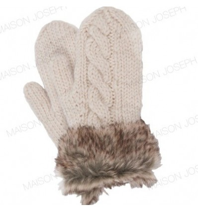 Moufles pure laine