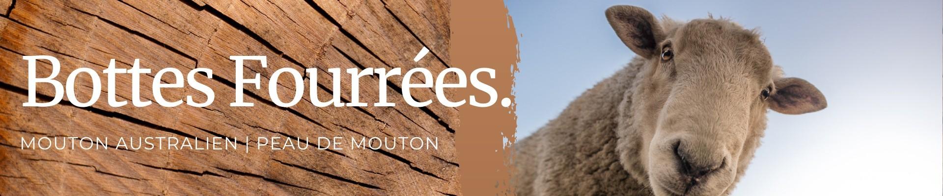 Bottes Fourrées Mouton