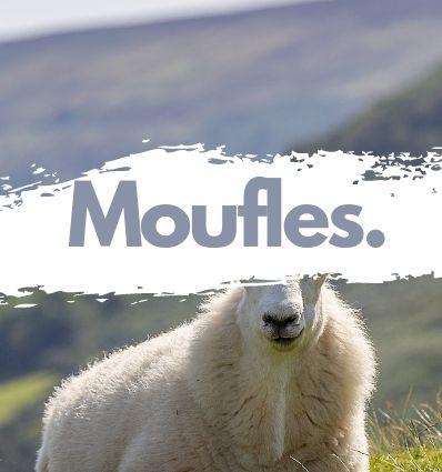 Sheepskin Moufles