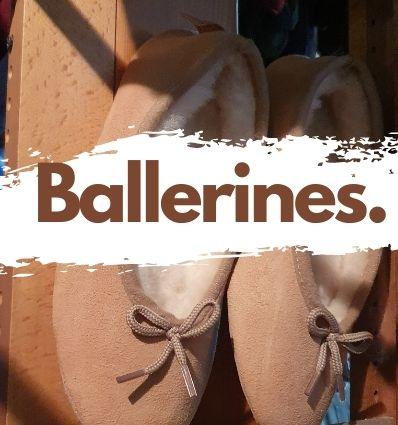 Ballerine Mouton