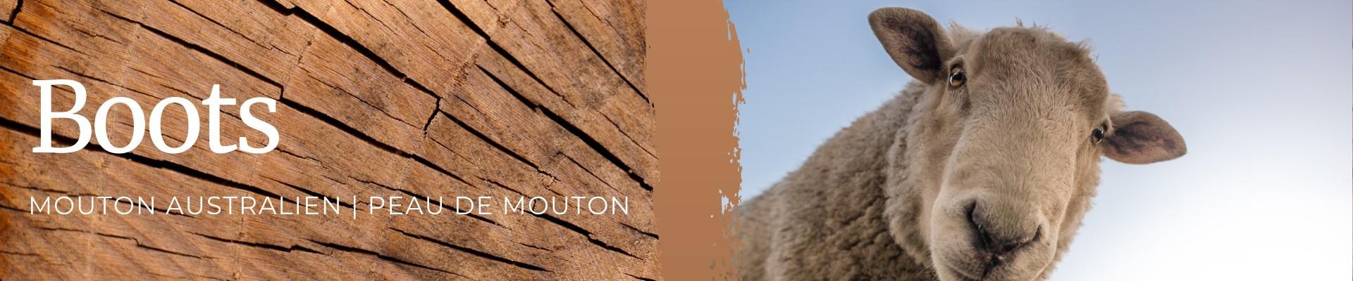 Bottes 100% Mouton