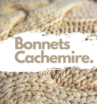 Bonnets en Cachemire